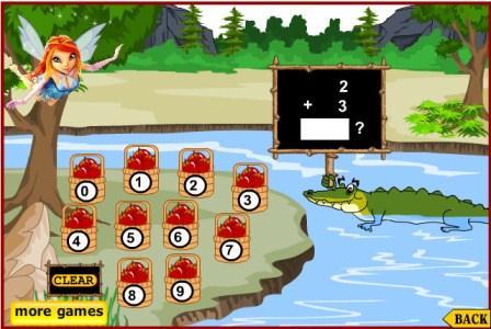 Игра Винкс - арифметика