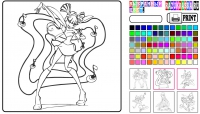 Раскраски Винкс онлайн
