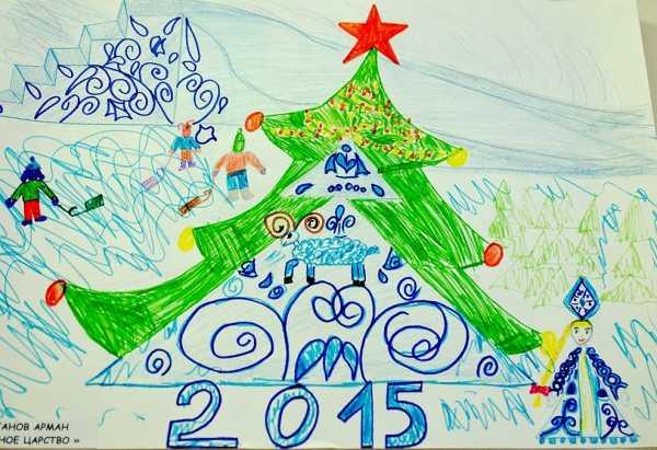 Изо в 1 классе зимний пейзаж карандашом поэтапно
