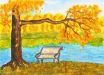 Простые рисунки про осень для детей – Как рисовать на тему Золотая осень для школы вместе с ребёнком поэтапно?
