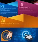Дизайнер графический онлайн – Adobe Photoshop, Illustrator, InDesign. Мы дадим теоретические и практические знания и навыки, необходимые для дизайнера