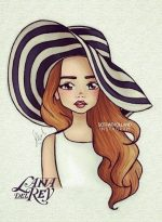 Как нарисовать девочку с длинными волосами для личного дневника – Картинки для личного дневника девочек для срисовки в лд