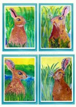 Рисунки зайца для детей – Ой!