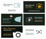 Визитки для фотографа шаблоны – ᐈ Креативная визитка фотографа – векторные изображения, рисунок визитка фотографа > скачать на Depositphotos®