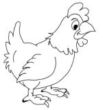 Как легко нарисовать курицу – Как нарисовать курицу и цыплёнка поэтапно