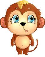 Картинка обезьяны для детей – Картинки для детей обезьянки, Стоковые Фотографии и Роялти-Фри Изображения для детей обезьянки