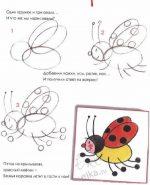 Дети рисунок карандашом – Поэтапное рисование животных, человека, узоров, цетов для детей