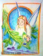 Как нарисовать рождество христово – Рисунки на тему Рождество Христово