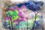 Картинки из гуаши – Цветы, Пейзаж + 100 ФОТО
