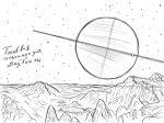 Космос нарисованный карандашом – Космос: рисунок карандашом