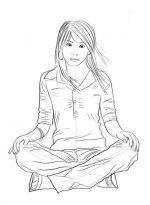 Нарисовать сидящего человека на стуле поэтапно карандашом – Как нарисовать сидящего человека? | Рисуем поэтапно сидящего человека на диване, полу и стуле, в профиль