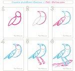 Нарисовать соловья поэтапно – Как нарисовать соловья карандашом. Поэтапный урок