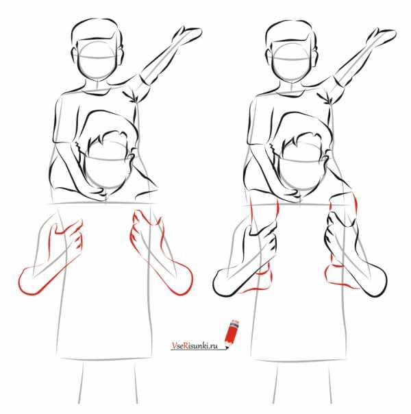 Урок рисования рук для начинающих