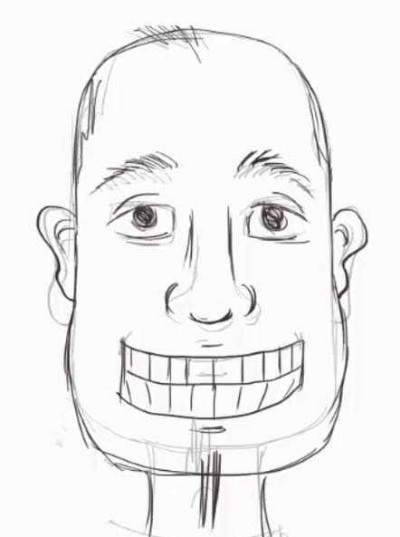 Смешные лица как нарисовать, заказ своим дизайном