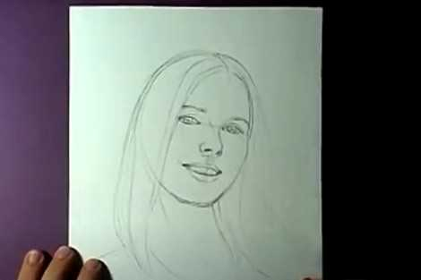Уроки рисования портрета карандашом с фотографии