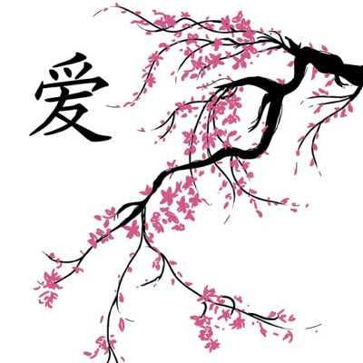 Урок рисования сакура