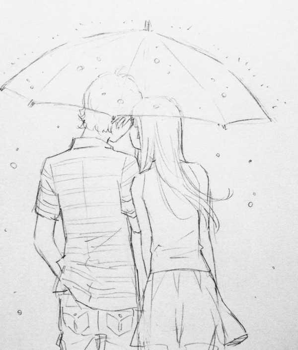Картинки для срисовки про любовь: красивые, легкие
