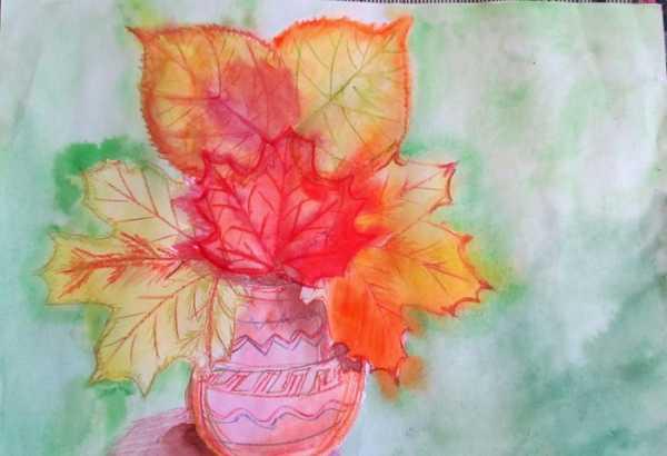Нарисовать рисунок красота осени 2 класс окружающий мир ...  Девушка Осень Рисунок