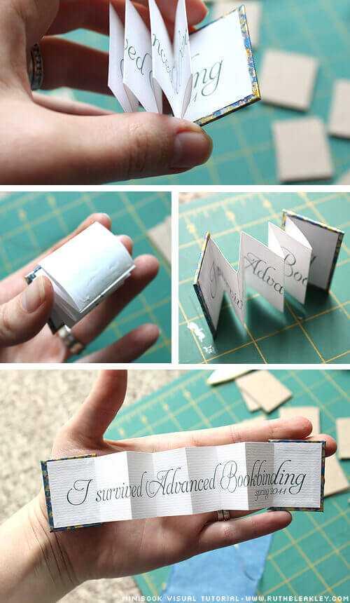 Как сделать книжку из открыток