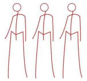 Как рисовать одежду для фэшн- эскизов