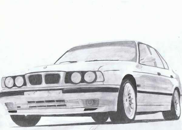 Рисунок бмв х5 карандашом – Как поэтапно нарисовать модель ...