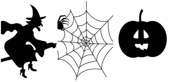 Шаблон на хэллоуин – Трафареты и картинки на Хэллоуин для ...