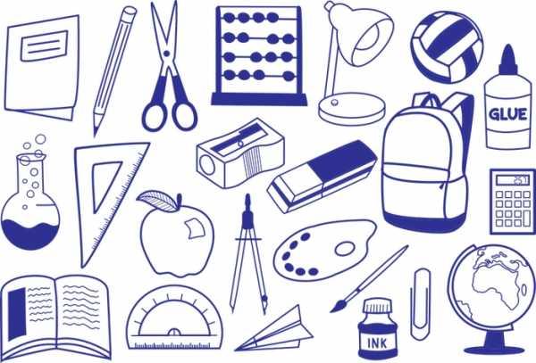 Школьный портфель рисунок – Раскраска Портфель Уроки ...